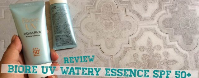 review biore uv watery essence spf 50