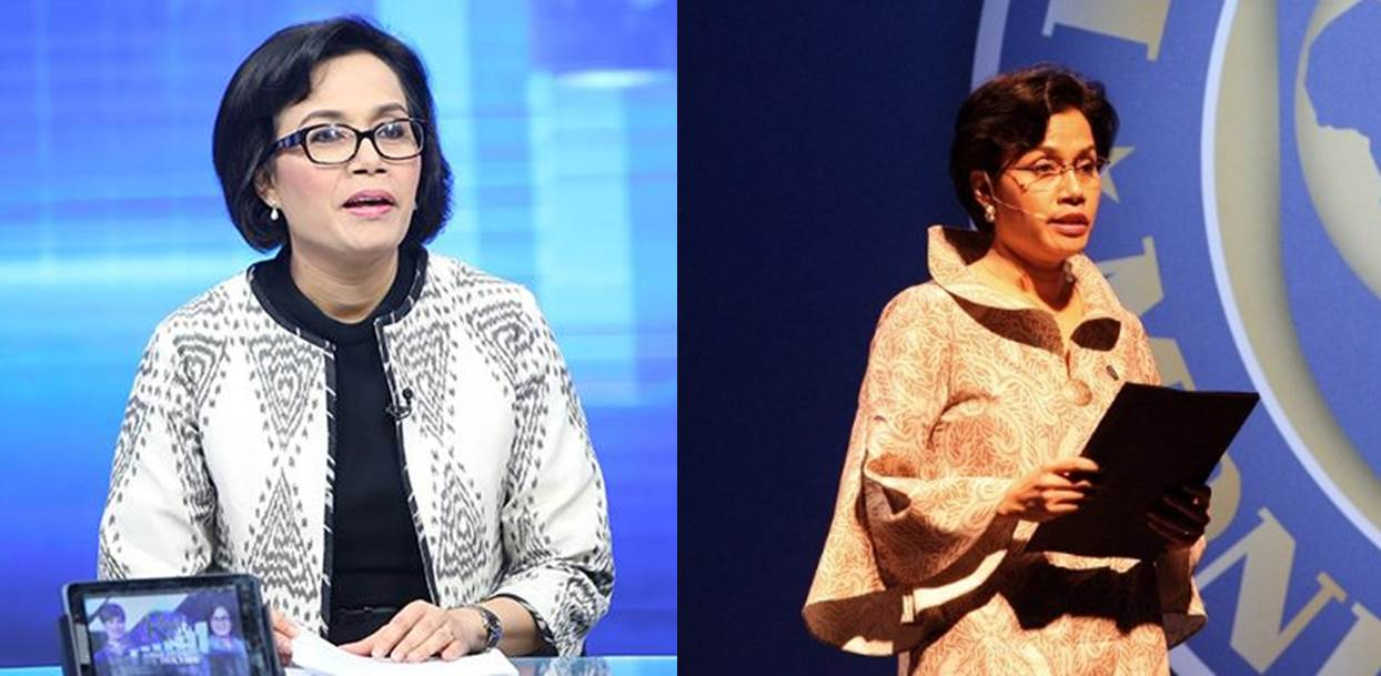 sri mulyani fashionable