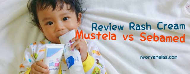 review rash cream mustela sebamed judul