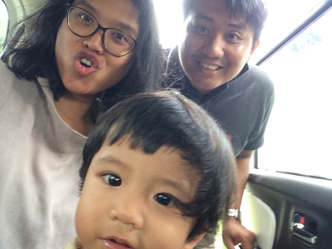 traveling darat bareng bayi happy